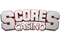 Scores Casino 200% + 25 FS First Deposit